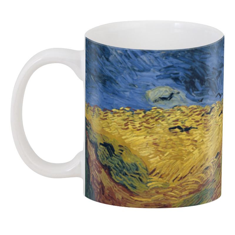 все цены на 3D кружка Printio Пшеничное поле с воронами (ван гог) онлайн