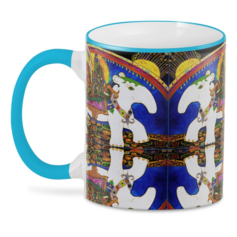 3D кружка Printio Тапир чай фотоштора сирень фотошторы сатен чудесное радостное сияющее