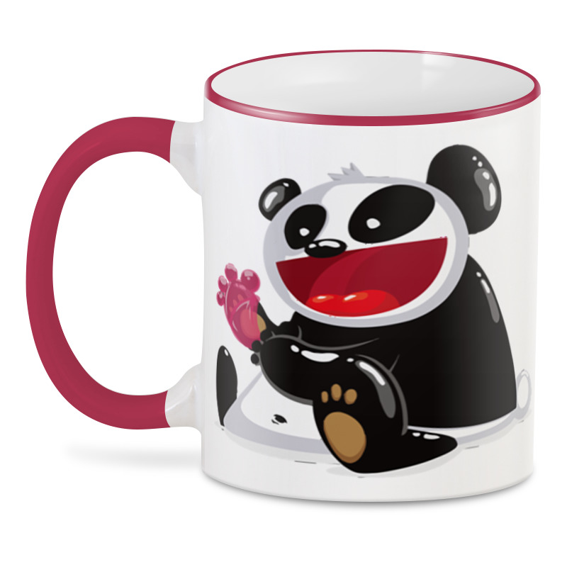 3D кружка Printio Панда панда 30 см