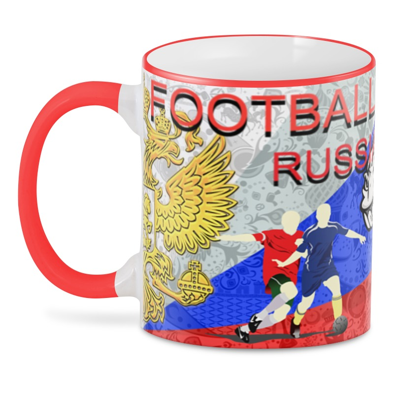 3D кружка Printio Football russia 3d football field wall sticker
