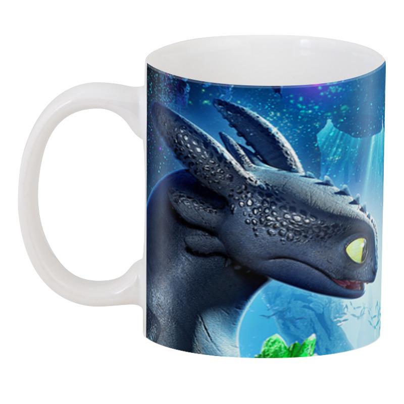 3D кружка Printio Как приручить дракона лонгслив printio как приручить дракона