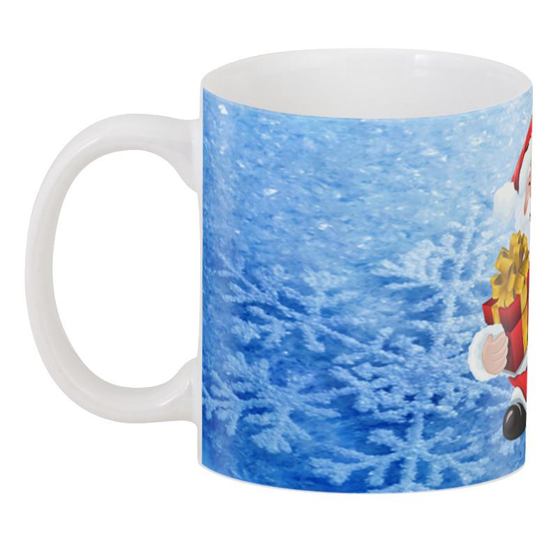 3D кружка Дед мороз