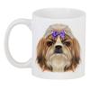 "3D кружка ""Йоркширский терьер"" - рисунок, бантик, собаки, йорк"
