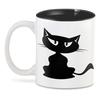 "3D кружка ""Котя   ."" - кот, кошка, котенок, кошечка"