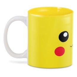 """3D кружка """"Пикачу"""" - пикачу, аниме, покемоны"""