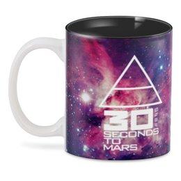 """3D кружка """"30 seconds to mars"""" - музыка, рок, 30 seconds to mars, джаред лето"""
