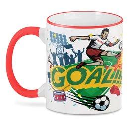 "3D кружка ""Футбол"" - футбол, спорт, россия, мяч"