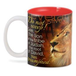 """3D кружка """"ЛЕВ.  логотип"""" - красота, лев, яркость, надпись, стиль"""