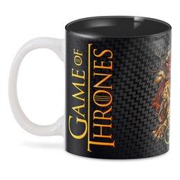 """3D кружка """"Game Of Thrones"""" - символы, фэнтази, игра пристолов, киноманам, любителям сериалов"""