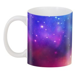 "3D кружка ""Космическое небо"" - арт, звезды, космос, небо"