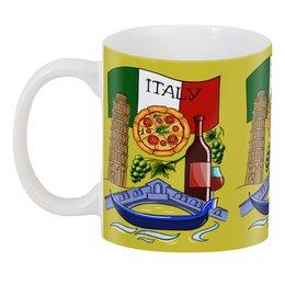 """3D кружка """"Итальянская любовь"""" - любовь, италия, мечта, вино, башня"""