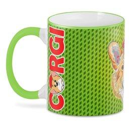 """3D кружка """"CorgiDog"""" - пес, собака, домашние животные, корги, собачникам"""