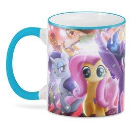 """3D кружка """"Мой маленький пони"""" - мой маленький пони, mylittlepony, мульт"""