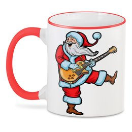 "3D кружка ""Merry Christmas "" - прикол, юмор, новый год, санта клаус"