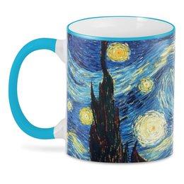 """3D кружка """"Ван Гог. Звездная ночь"""" - арт, картина, ван гог, живопись"""