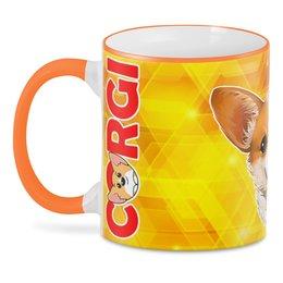 """3D кружка """"CorgiDog"""" - собака, домашние животные, корги, вельш-корги, собачникам"""