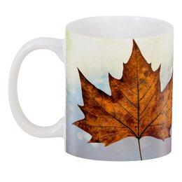 """3D кружка """"Осень"""" - осень, подарок, золотая осень, золотая пора, золотые деревья"""