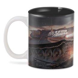 """3D кружка """"Без боя нет победы"""" - танки, wot, world of tanks, tanks"""