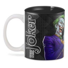 """3D кружка """"The Joker GUN"""" - джокер, отряд самоубийц, с пистолетом, киноманам, любителям комиксов"""