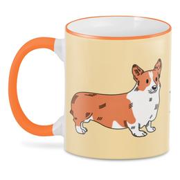 """3D кружка """"Моя собака/Корги"""" - собаки, корги"""