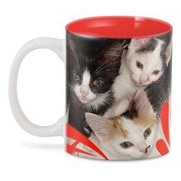 """3D кружка """"Кото-братва."""" - кошки, коты, котэ, котята, котики"""