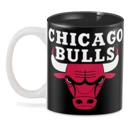 "3D кружка ""Чикаго Буллз"" - спорт, баскетбол, chicago bulls, чикаго буллз"