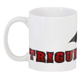 "3D кружка ""TRIGUN"" - аниме, манга, trigun, триган, вэш"
