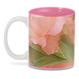 """3D кружка """"Ласка."""" - цветы, нежность, гладиолус, гладиолусы, розовый гладиолус"""