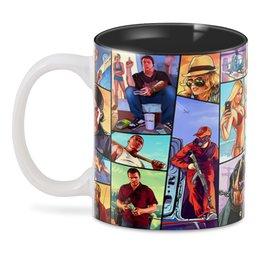 """3D кружка """"Grand Theft Auto"""" - компьютерные игры, мужчине, сыну, автолюбителям, киноманам"""