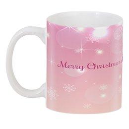 """3D кружка """"Christmas"""" - праздник, новый год, зима, с новым годом, елка"""