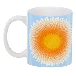 """3D кружка """"Солнечный орнамент"""" - солнце, орнамент, подарок, абстракция"""