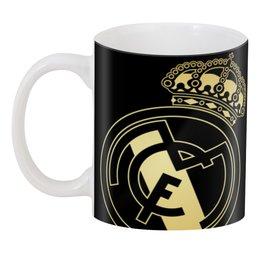 """3D кружка """"Реал Мадрид"""" - футбол, real madrid, реал мадрид, футбольный клуб, реал"""