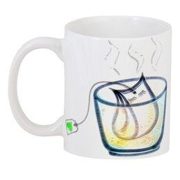 """3D кружка """"Время пить чай"""" - чай, релакс, блаженство, время чая, баня"""