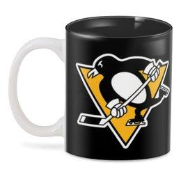 "3D кружка ""Pittsburgh Penguins"" - спорт, хоккей, питтсбург пингвинз, pittsburgh penguins"