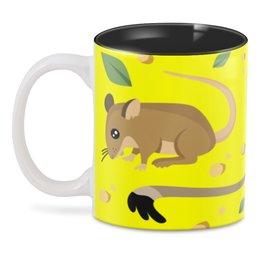 """3D кружка """"Мышь (Крыса)"""" - новый год, мышь, сыр, год крысы, 2020 год"""