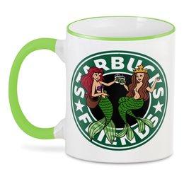 "3D кружка ""Starbucks"" - кофе, coffee, русалка, starbucks, старбакс"