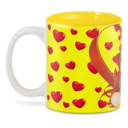 """3D кружка """"мишка"""" - сердце, сердца, мишка, сердечка"""