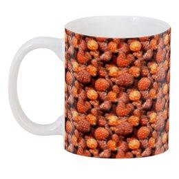 """3D кружка """"Дикая малина"""" - красный, ягоды, малина, сладкий, аромат"""