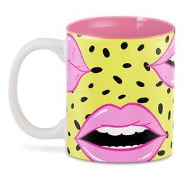 """3D кружка """"Губы (Lips)"""" - lips"""