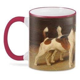 "3D кружка ""Терьеры"" - артур вардль, собака, картина, живопись, арт"
