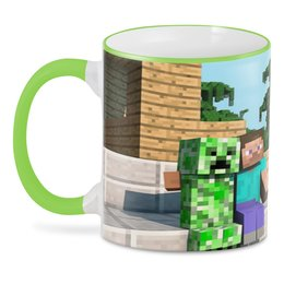 "3D кружка ""Minecraft"" - манкрафт, майнкрафт, minecraft"