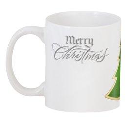 "3D кружка ""Christmas"" - праздник, новый год, рождество, christmas, елка"