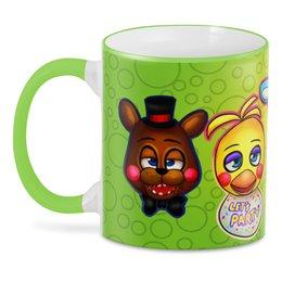 """3D кружка """"Five Nights at Freddy's"""" - мультфильмы, игрушки, куклы, пять ночей у фредди, киноманам"""