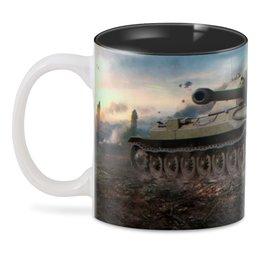 "3D кружка ""World of tanks"" - wot, tanks, world of tanks, танки"