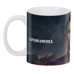 """3D кружка """"3D Стив Роджерс (Капитан Америка)"""" - капитан америка"""
