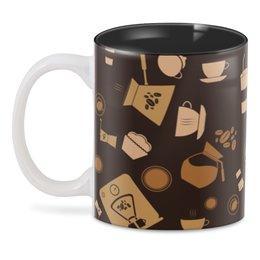 """3D кружка """"Кофе."""" - ретро, сладости, кофе, шоколад"""
