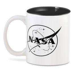 "3D кружка ""NASA | НАСА"" - космос, nasa, наука, астрономия, the spaceway"