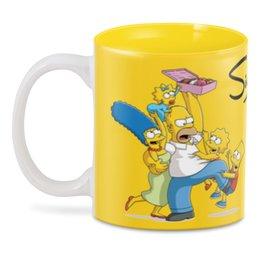 """3D кружка """"Симпсоны"""" - гомер, семья, сериал, симпсоны, мульт"""