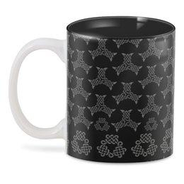 """3D кружка """"Кофе викинга"""" - узор, славяне, викинг, кельты, скандинав"""