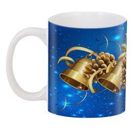 """3D кружка """"Новый год"""" - праздник, новый год, зима, елка, колокол"""